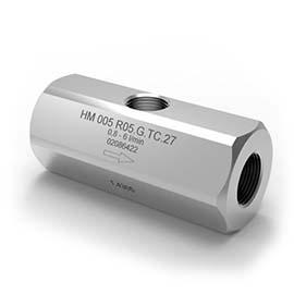 HM turbine flow meter