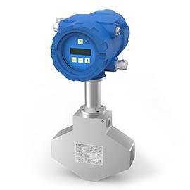 Tricor mass flow meter